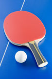Table tennis equipment Stock Photography