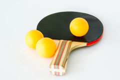 Table Tennis Equipment Stock Photo
