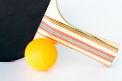 Table Tennis Equipment Royalty Free Stock Photography