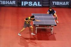 Table tennis - ETTU quarterfinal Royalty Free Stock Photos