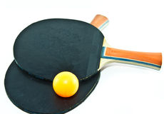 Table tennis. And in game Royalty Free Stock Photography