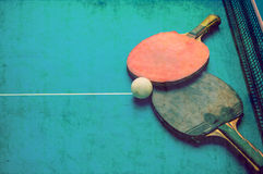 Table tennis. The Table tennis grunge background stock image
