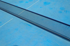 Table tennis net stock image