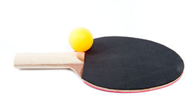 Table tennis paddle Royalty Free Stock Image