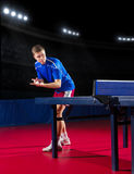 Table tennis player Stock Photography