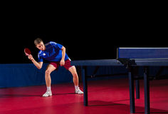 Table tennis player Royalty Free Stock Photo
