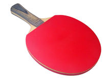 Table tennis rack clipping path Royalty Free Stock Photography