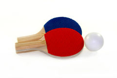 Table tennis racket Royalty Free Stock Photography