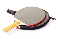 Table tennis racket Stock Photography