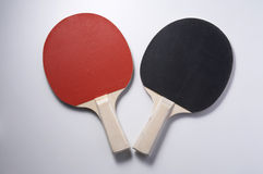 Table tennis racket. On thee plain background Royalty Free Stock Photo