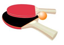 Table tennis rackets Royalty Free Stock Photo