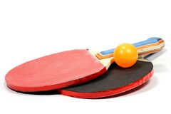Table tennis rackets Royalty Free Stock Photos