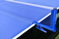 Table tennis sport background, Net on table tennis board Royalty Free Stock Photo