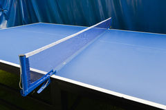 Table tennis sport background, Net on table tennis board Royalty Free Stock Image
