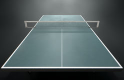 Table Tennis Table Royalty Free Stock Image