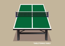 Table Tennis Table Top View Vector Illustration Royalty Free Stock Images