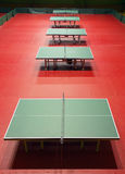 Table tennis venue Stock Photos
