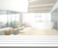 Table Top And Blur Office Of Background. Table Top And Blur Office Of The Background Royalty Free Stock Images