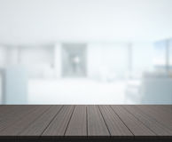 Table Top And Blur Office Of Background. Table Top And Blur Office Of The Background royalty free stock image