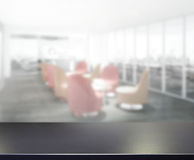 Table Top And Blur Office Of Background. Table Top And Blur Office Of The Background Stock Image