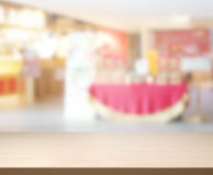 Table Top And Blur Restaurant Of Background. Table Top And Blur Restaurant Of The Background royalty free stock image