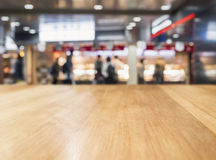 Table Top Blur Retail shop People shopping Background. Table Top counter Blur Retail shop People shopping Background Stock Photography