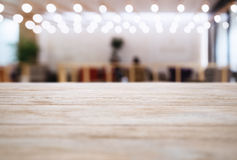 Table top Blurred Bar Restaurant Cafe interior Lighting decoration. Table top Counter Blurred Bar Restaurant Cafe interior Lighting decoration Royalty Free Stock Image