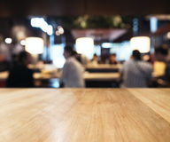 Table top Counter Bar Blur people drinking Stock Photo