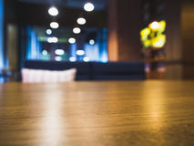 Table top Counter Blur seats Bar Restaurant Background Royalty Free Stock Photos