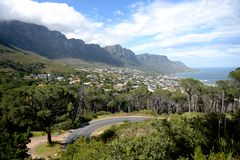 Table Top Mountain Royalty Free Stock Images
