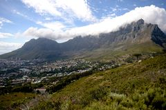 Table Top Mountain Stock Image