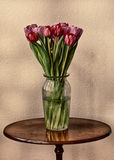 Table Top Tulips Royalty Free Stock Images