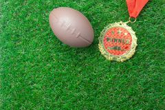 Table top view aerial image soccer or football season background. Stock Photo