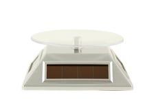 Table tournante avec les batteries solaires. Photos stock