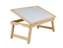 Table or tray for serving breakfast Stock Images