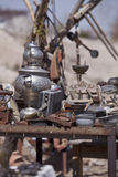 Table of Trinkets in Cappadocia Turkey Stock Photo