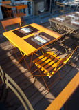 Table for two Royalty Free Stock Photography