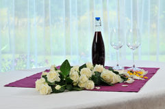 Table for two Royalty Free Stock Image