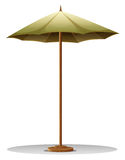 A table umbrella Stock Photography