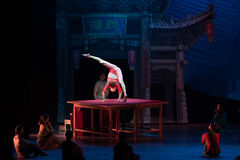 The table on the Vaudeville-Acrobatic showBaixi Dream Night Stock Photo