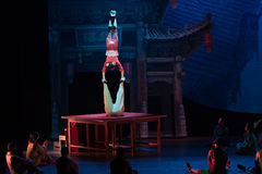 The table on the Vaudeville-Acrobatic showBaixi Dream Night Stock Photos