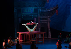 The table on the Vaudeville-Acrobatic showBaixi Dream Night Royalty Free Stock Image