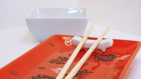 Table vide de sushi Image libre de droits