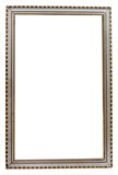 Table vintage photo frame on white Royalty Free Stock Image