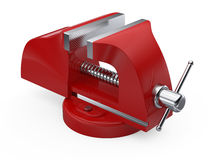 Table vise clamp Royalty Free Stock Photography