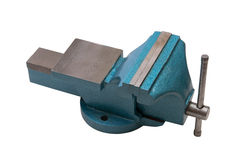 Table vise clamp Royalty Free Stock Images