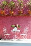 Table vivante, extérieure Photo libre de droits
