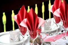 table wedding Στοκ Εικόνες