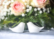 Table at a wedding reception Stock Images