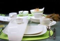 table white 免版税库存照片